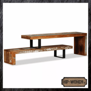 Tv-meubel hout gerecycled