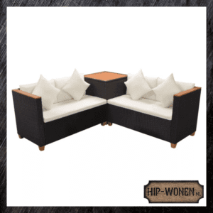 Loungeset rattan 4-pers.