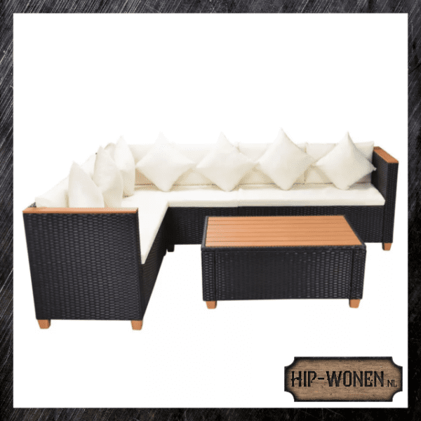 Loungeset rattan 6-pers. 3